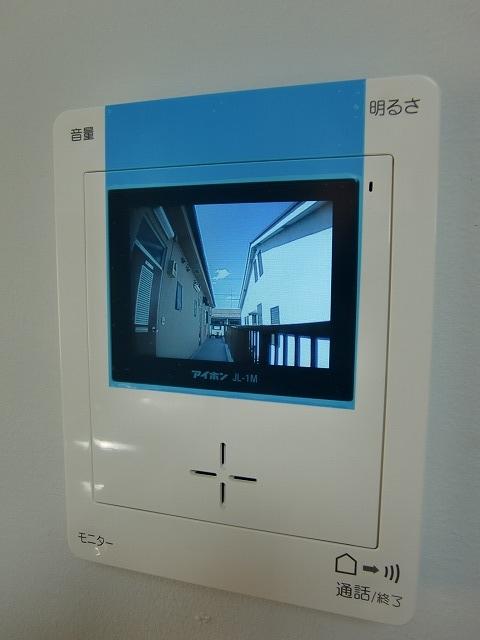 カラーモニターTV付インターホン
